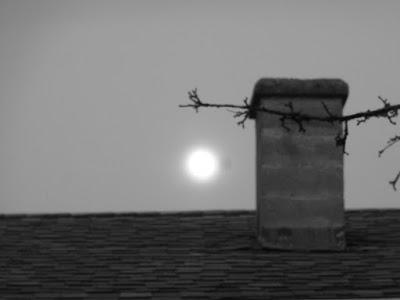full moon as seen from studio doorway verna vogel