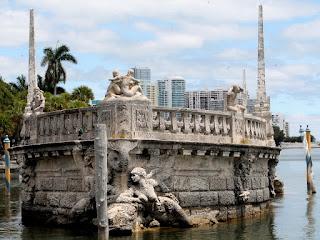 Barco de piedra en Villa Vizcaya