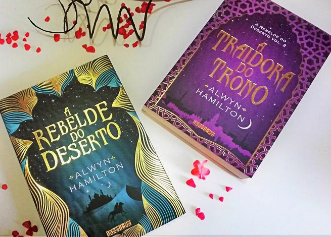 A Rebelde do Deserto + A Traidora do Trono | Alwyn Hamilton