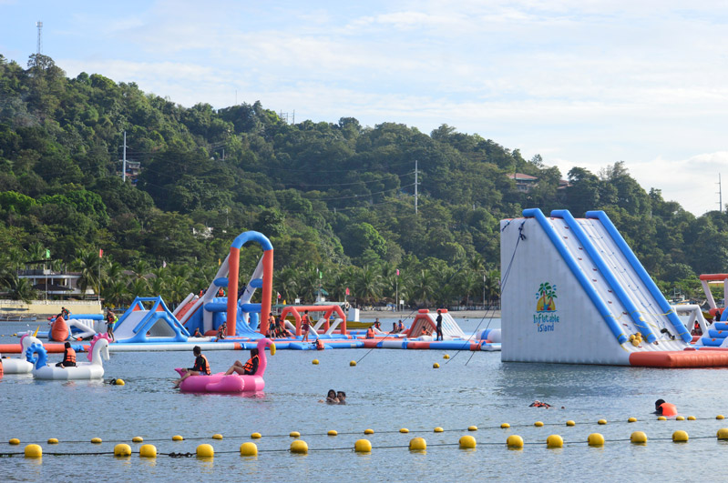 The Biggest Floating Playground in Asia