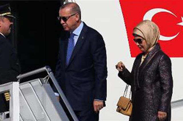 Τα... ακριβά γούστα της κυρίας Ερντογάν
