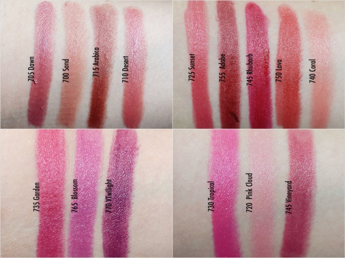 Alles Swatches der Revlon Ultra HD Gel Lipcolors