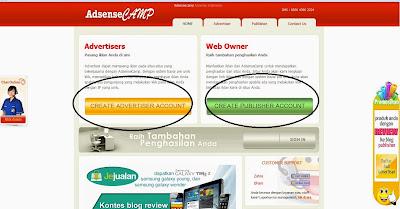 Cara Daftar Website AdsenseCamp