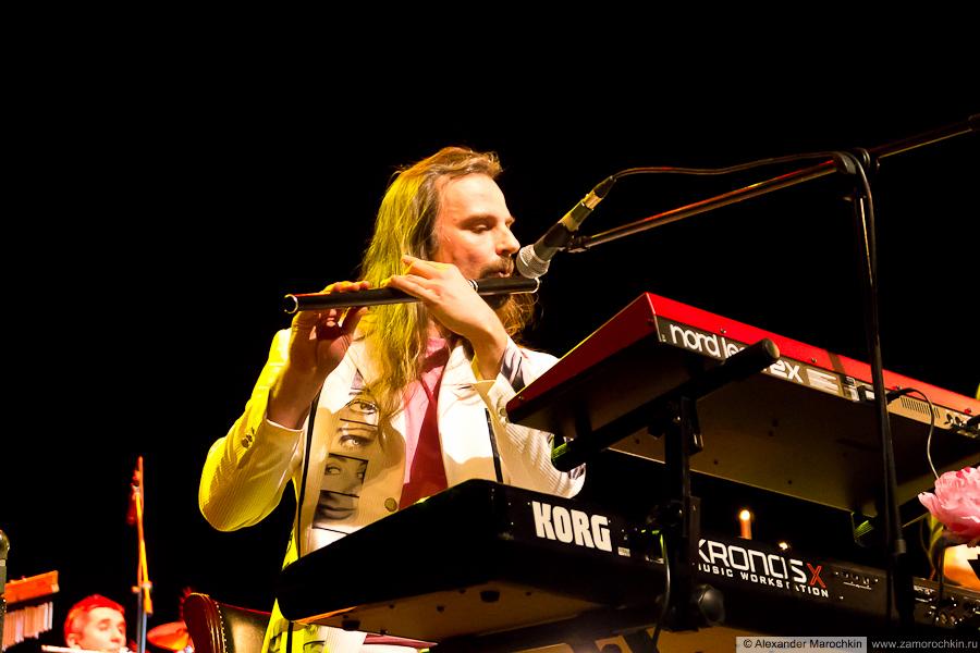 Борис Рубекин на концерте Аквариума в Саранске 09.02.2013