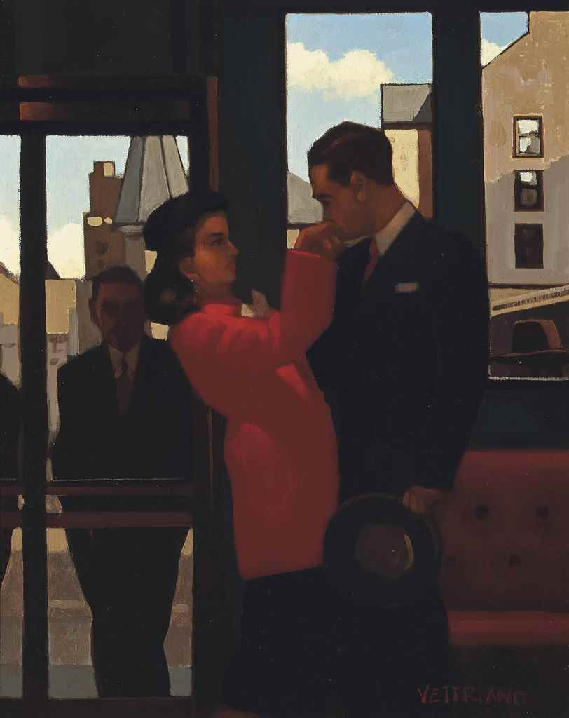 Jack  Vettriano  The  Perfect  Gent  signed