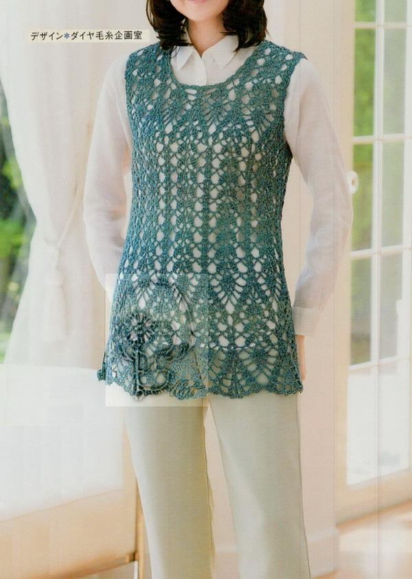 Crochet Tunic For Women