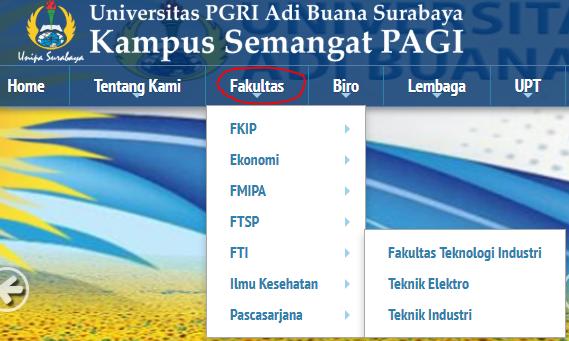 Fakultas dan Prodi UNIPA Surabaya
