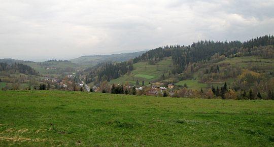 Dolina potoku Bielanka.