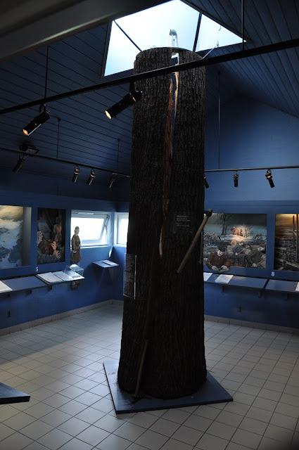 Muzeum przy ringforcie w Aggersborgu