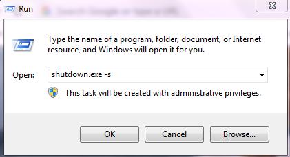Cara Mematikan Komputer Atau Laptop Menggunakan CMD