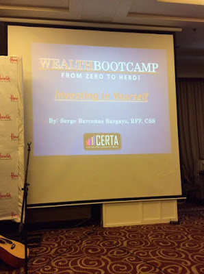 Wealth Bootcamp: Investing in yourself
