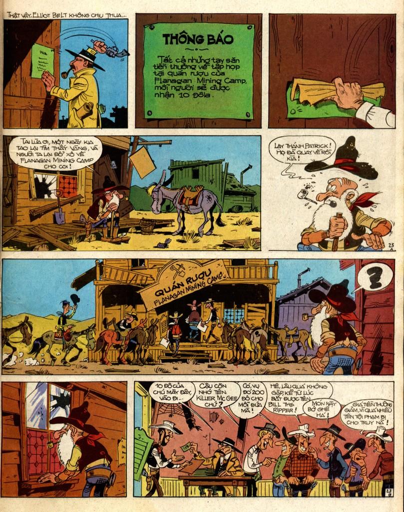 Lucky Luke tap 2 - ke san tien thuong trang 23