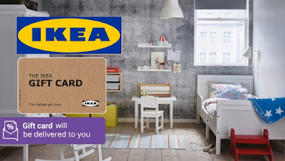 RM20 IKEA Gift Card @ RM10 (50% Discount) Until 4 September 2017