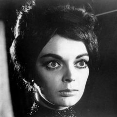 Barbara Steele, un mito del cine de terror.