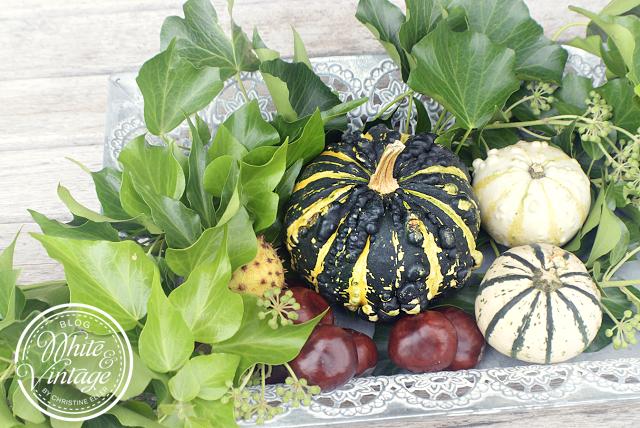 Herbstliche Dekoideen für den Garten
