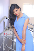 Telugu Actress Mounika UHD Stills in Blue Short Dress at Tik Tak Telugu Movie Audio Launch .COM 0273.JPG