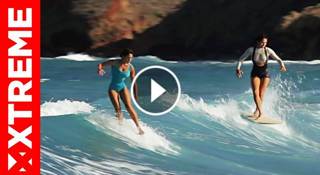 SEEA IN ITALY Surfing Babes Mele Saili - Jenayl Peters