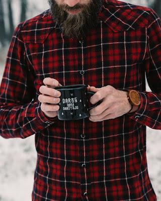 Vintage Mens wooden watch