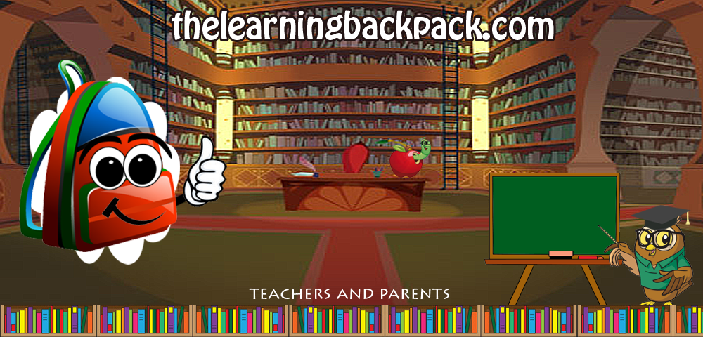 The Learning Backpack Printables