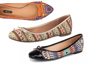 Novos modelos sapatilhos Arezzo verão 2015