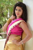 pavani new photos in saree-thumbnail-9