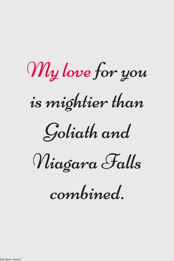 my love quote image
