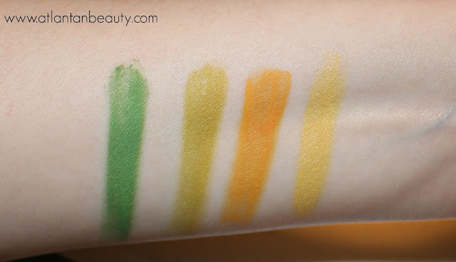 NYX Ultimate Shadow Palette Swatches