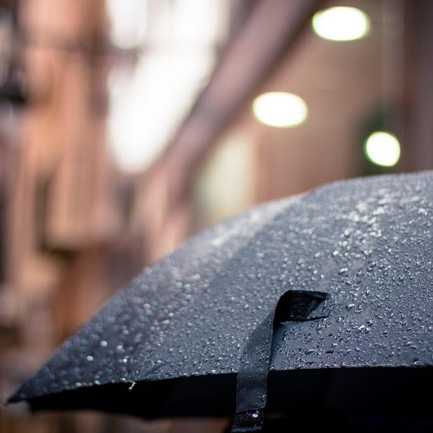 Raining.  Again!