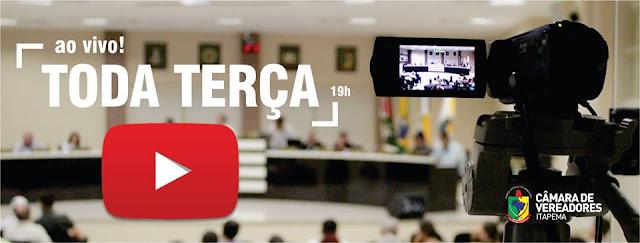 camara de vereadores de Itapema AO VIVO