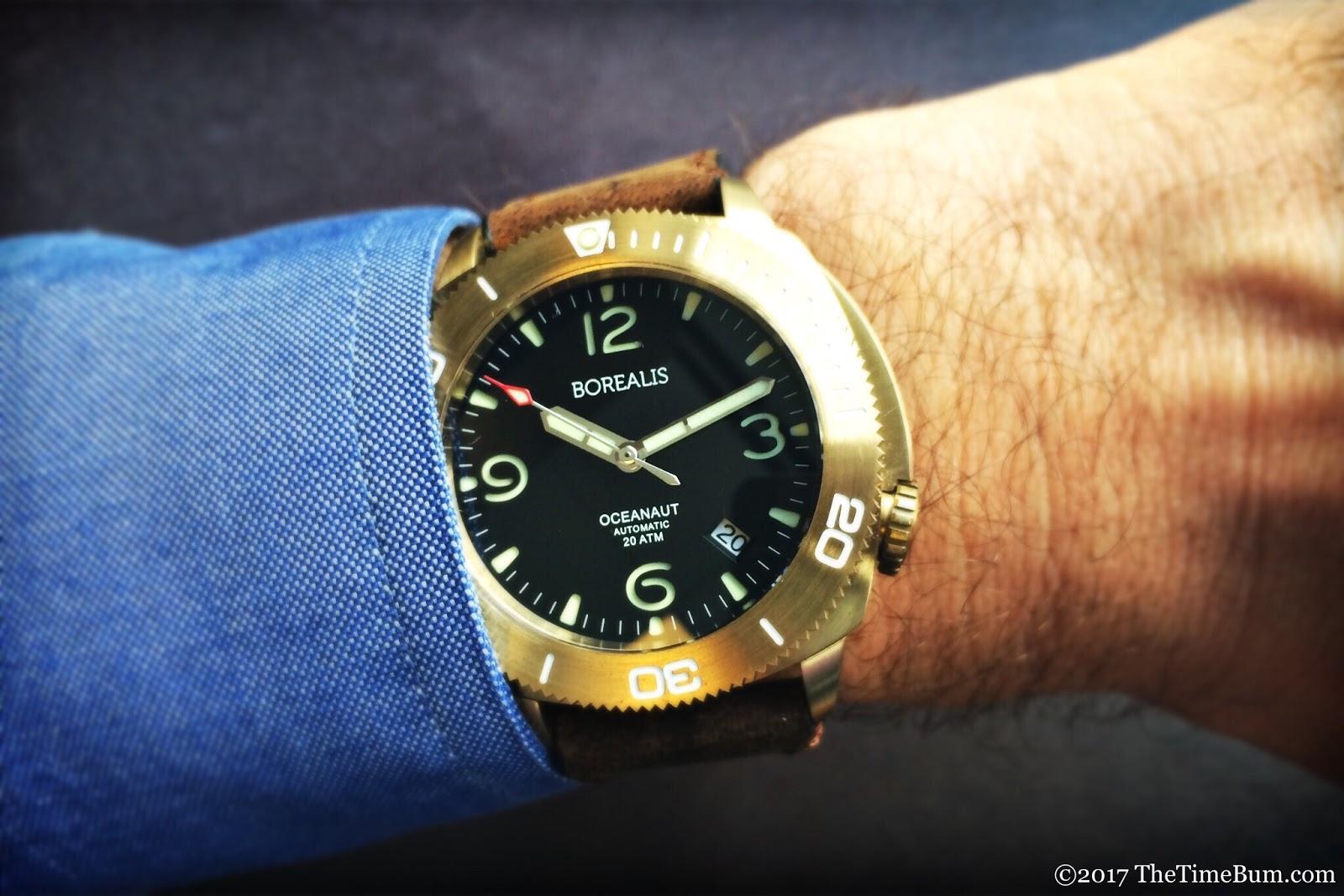 Borealis Oceanaut wrist shot