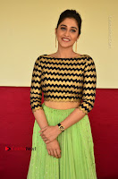 Actress Regina Candra Latest Pos in Green Long Skirt at Nakshatram Movie Teaser Launch  0095.JPG