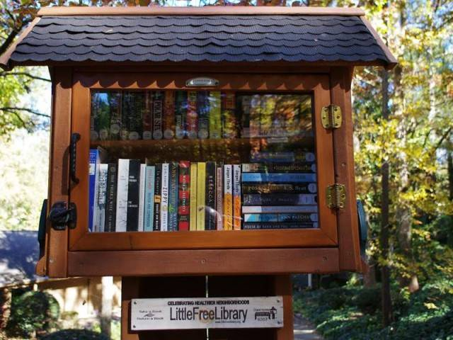 "The international project ""Little Free Library"" is the promotion of reading, the revival of love for the printed book, and the promotion of adult and child literacy throughout the world."