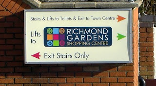 Shopping centre signage - Signcraft