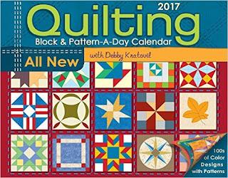 Quilting Block & Pattern-A-Day 2017 Calendar PDF