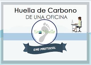 Huella de carbono organizacion oficina ghg protocol