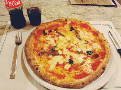 Pizza margherita, Naples, Italy