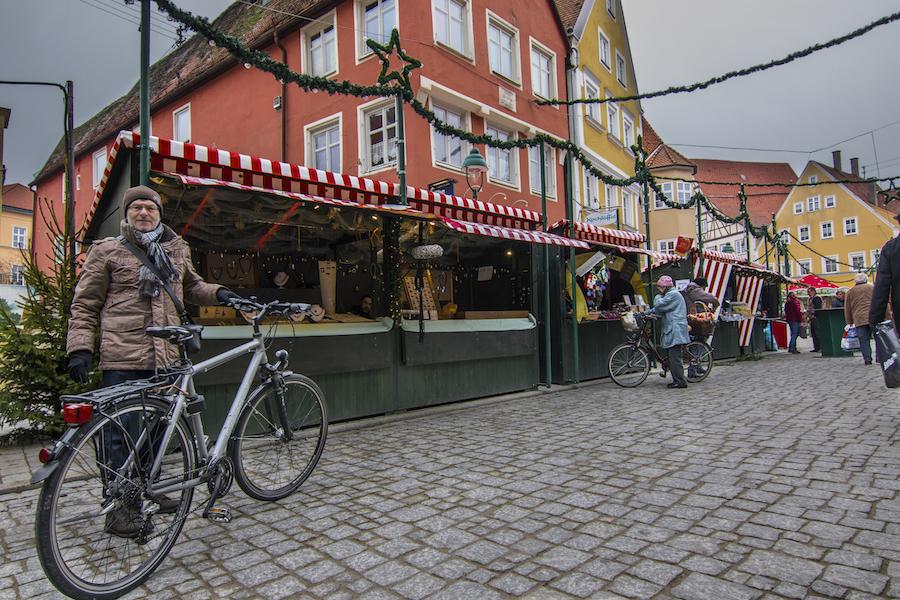 Mercado de Navidad de Nördlingen, Alemania