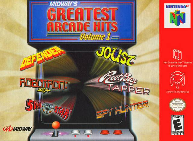 Midway s Greatest Arcade Hits Volume 1