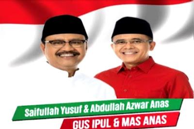 Sekilas Profil Gus Ipul – Azwar Anas