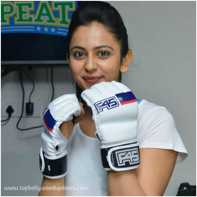 Rakul Preet Singh Launch F45 Fitness Gym
