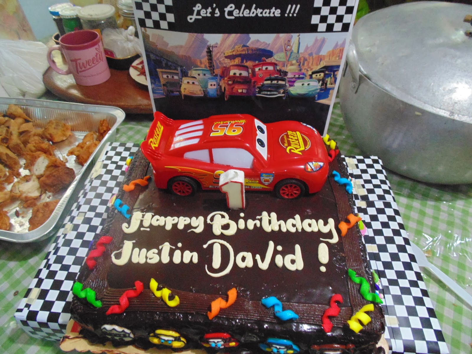 Supreme Life: DIY Disney Cars Cake