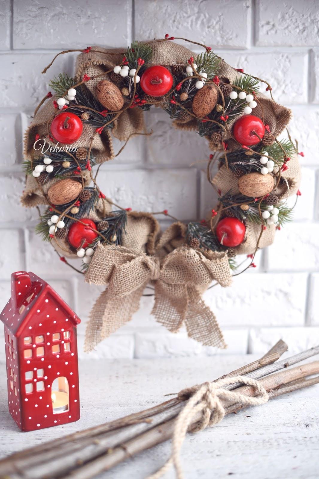 венок на дверь / door wreath