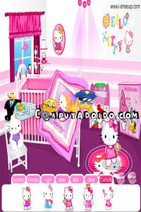 computadoido jogos Jogos da gata Hello Kitty de decoração Jogos de meninas