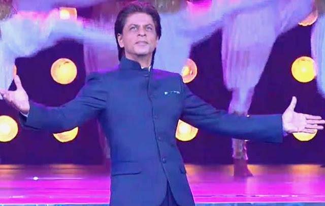 Shah Rukh Khan, IFFI 2017, 48th IFFI, Inaugural function