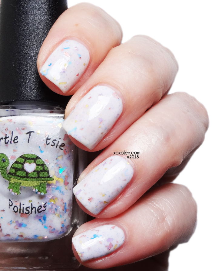 xoxoJen's swatch of Turtle Tootsie Whoville