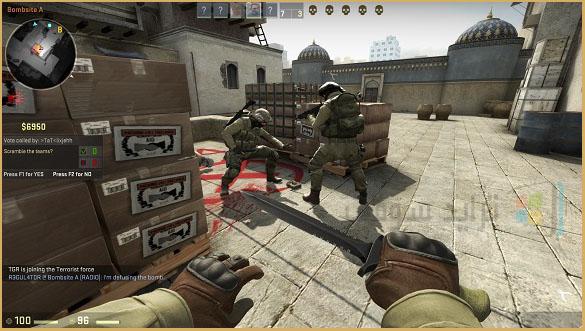 لعبة كونتر سترايك كاملة للكمبيوتر برابط واحد مباشر