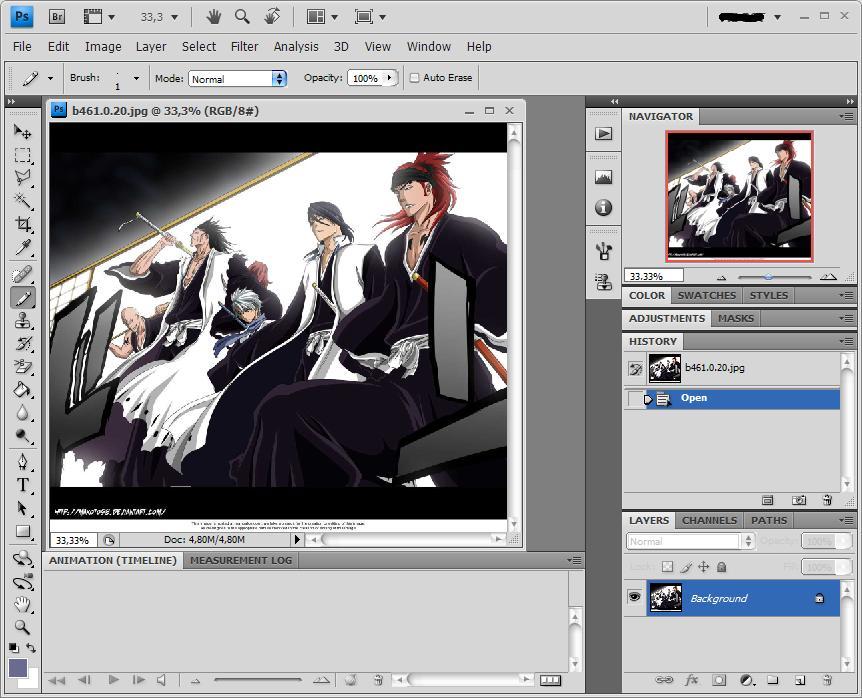 Kaze Akira Cara Meng Crop Gambar Menggunakan Adobe Photoshop Cs4