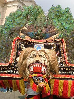 Asal Usul Tari Reog Ponorogo : ponorogo, Tradisional, Jawa:, Ponorogo