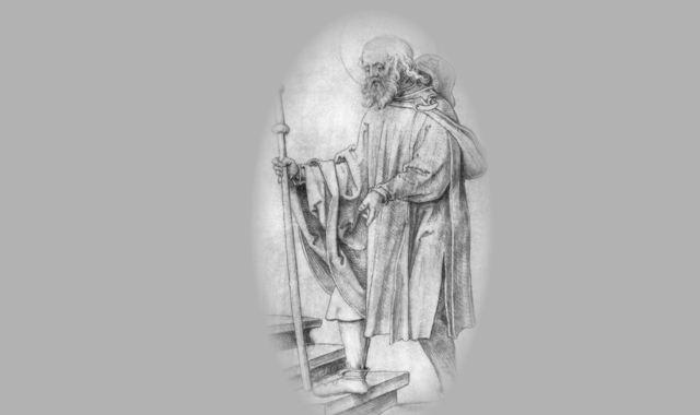 Einsamer Pilger
