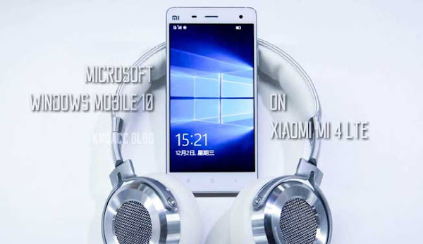 Windows Mobile 10 Xiaomi MI 4 LTE
